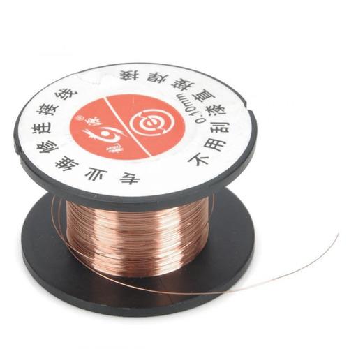 repair 0.1mm enamelled hookup wire (20m)