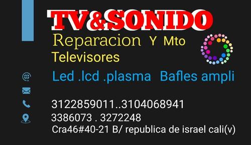 reparacio taller  de televisores y sonido