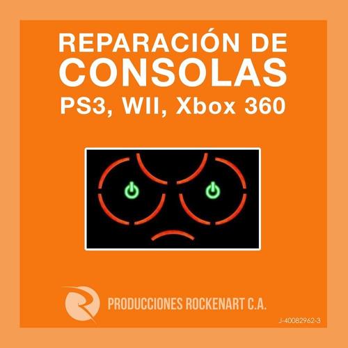 reparacion 3 luces xbox ps3 recalentamiento mantenimiento