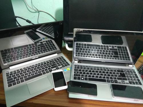 reparación a equipos de computo y celulares
