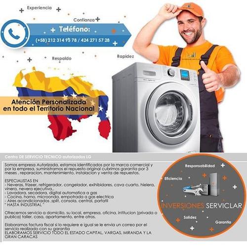 reparacion adomicilio nevera-lavadora-secadora (industrial)