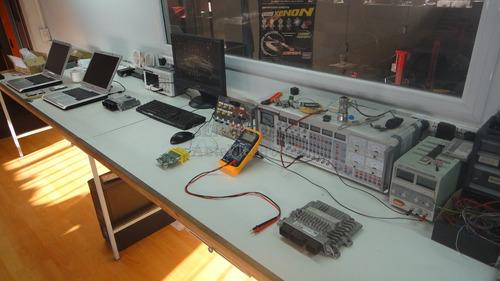 reparación airbag - reseteo fallas choque - autoelectronica