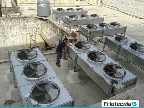 reparación aires acondicionados centrales