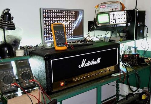 reparación amplificadores de guitarra y bajo marshall fender