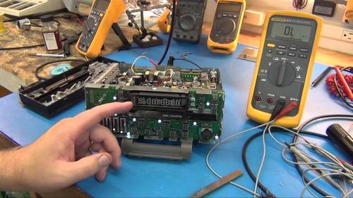 reparacion amplificadores reproductores vehiculos y casa