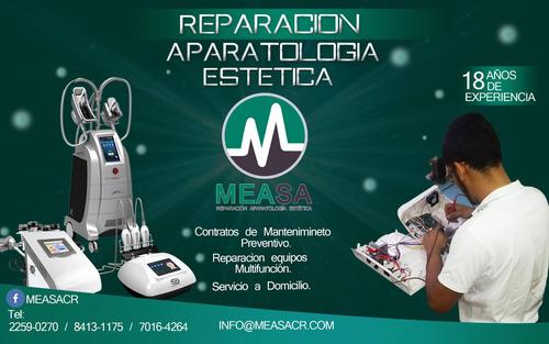 reparacion aparatologia estetica y medica