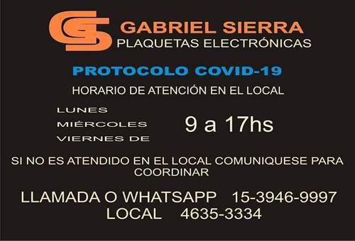 reparacion, arreglo, service de plaquetas electrónicas