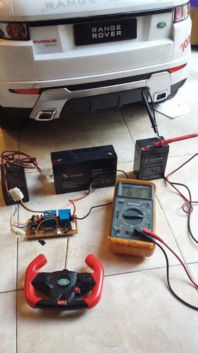 reparacion autitos a baterias(rastar,biemme,rodacross