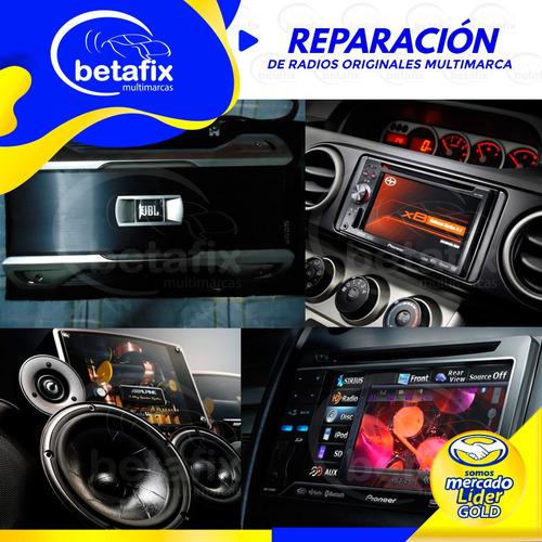reparacion auto radios/ amplificadores /pioneer/ jbl /alpine