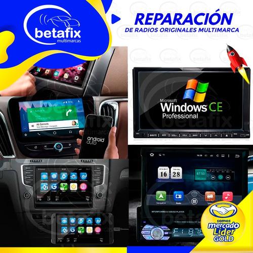 reparacion auto radios android windows kenwood jvc jl audio