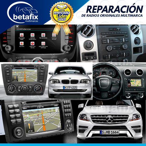 reparación auto radios ford mercedes audi bmw land rover