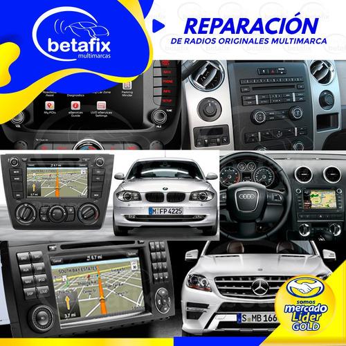 reparacion auto radios ford mercedes audi bmw land rover