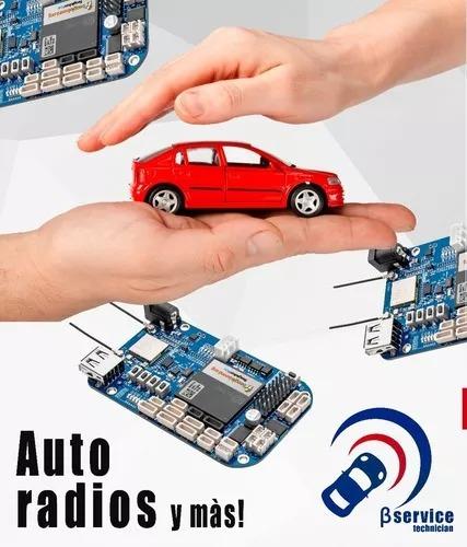reparación auto radios originales / multimarcas