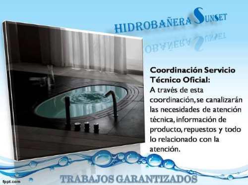 reparación bañera hidromasaje, service hidromasaje.garantia