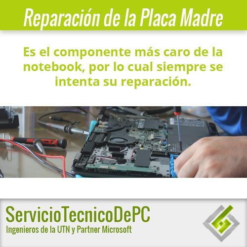 reparación bisagra carcasa pin de carga placa madre notebook