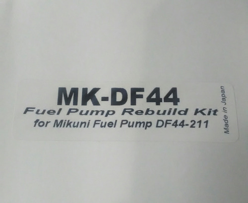 reparacion bomba nafta mikuni karting moto rotax max bombas