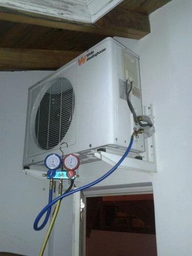 reparación calefacción central caldera aires acondicionados