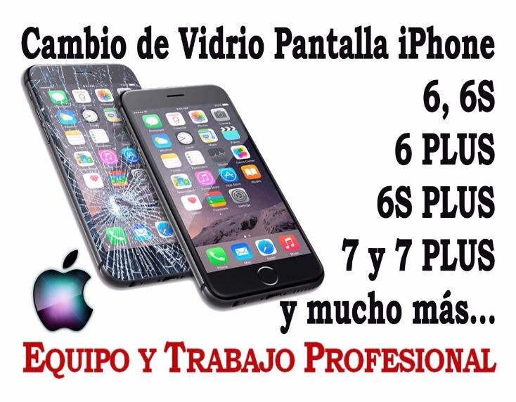 12ce58f6d52 Reparación Cambio De Vidrio Glass iPhone 6s - $ 1.390,00 en Mercado ...