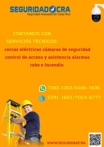 reparación cercas electrificadas -cámaras seguridad -alarmas