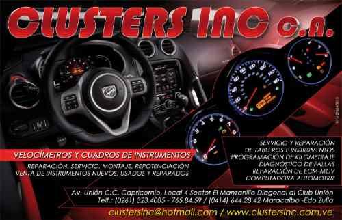 reparacion cluster tacometro velocimetro ford fiesta