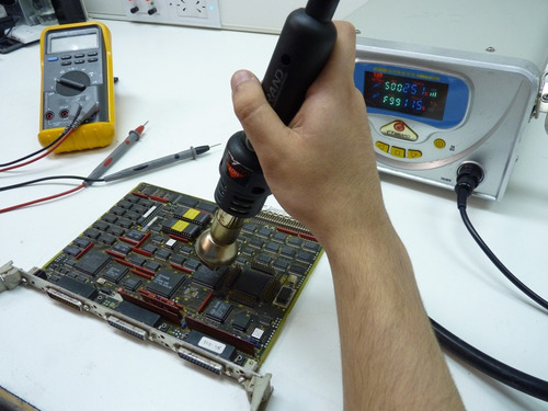 reparación cnc - servomotores - siemens, fanuc, mitsubishi