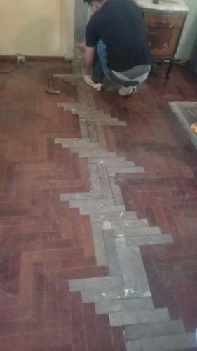 reparación colocación pisos parquet pulido plastificadohidro