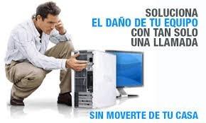 reparación, computador servicio