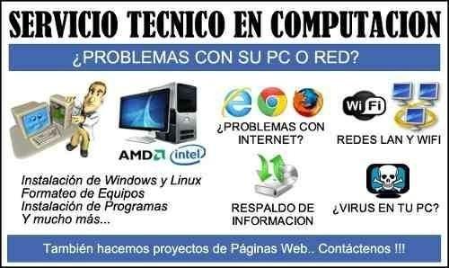 reparacion computadora instalacion