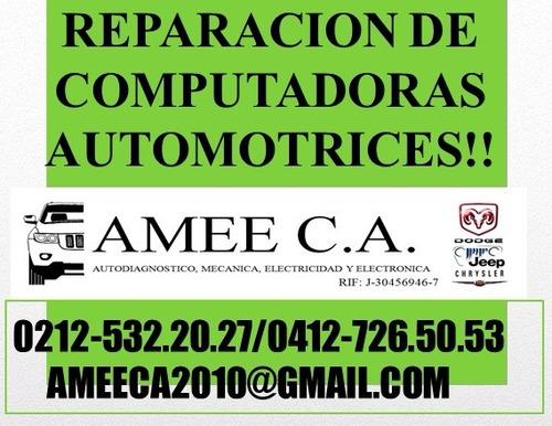 reparacion computadoras vehiculos