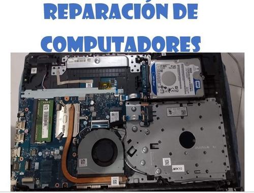 reparación computadores portátiles y de escritorio domicilio