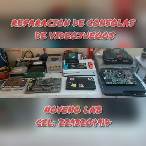 reparacion consolas video juegos