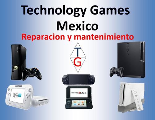 reparacion consolas videojuegos,