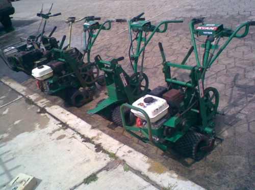 reparacion corta pasto cortadora cosechadora carpeteadora