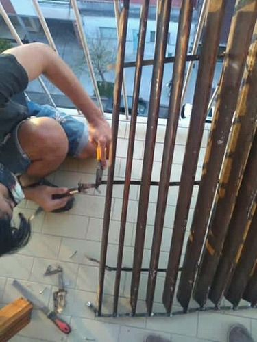 reparacion cortinas de enrollar pvc y madera comun o barrio