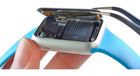 reparación cristal apple watch 2,3 y 4 gen 38 40 42 y 44 mm