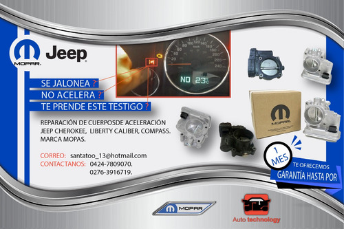 reparacion  cuerpo  aceleracion dodge caliber jeep cherokee