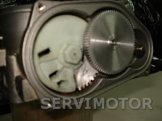 reparación cuerpo mariposa motorizada - engranajes a medida