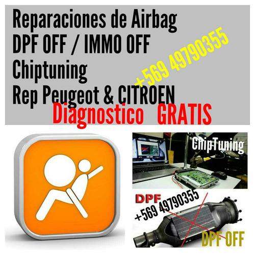 reparacion de airbag , programacion airbag, dpf off, fap off