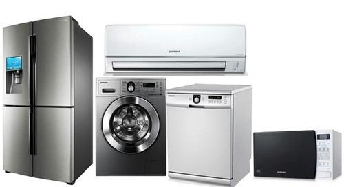 reparación de aires acondicionados heladeras y lavarropas