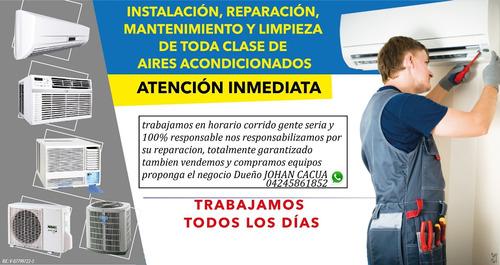 reparación de aires y mantenimiento