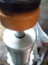 reparación de amortiguador benelli trk 502