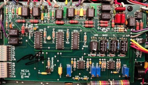 reparación de amplificadores valvulares