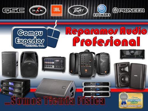 reparación de amplificadores y cornetas amplificadas