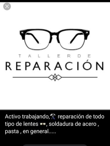 reparación de anteojos