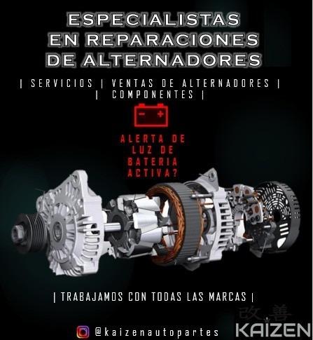 reparación de arranques & alternadores