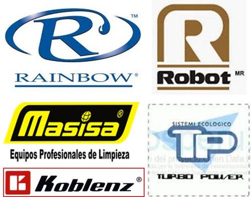 reparacion de aspiradoras turbo power, rainbow,robot,koblenz