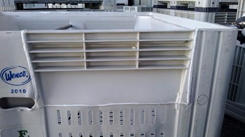 reparacion de bins plasticos y equipos pulverizadores