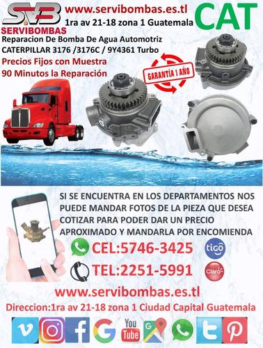 reparación de bomba de agua automotriz caterpillar 3176c