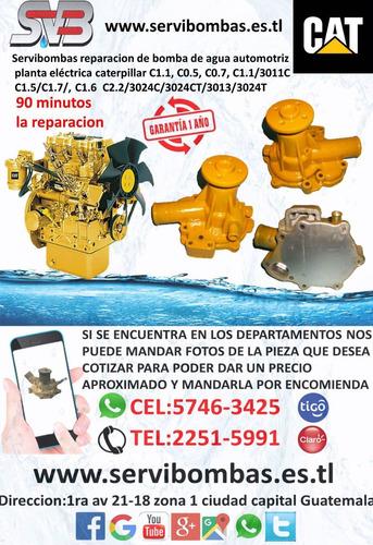 reparación de bomba de agua automotriz david brown guatemala