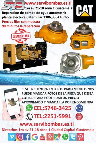 reparación de bomba de agua automotriz komatsu  6d95 pc200